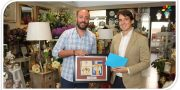 Sierpes Decoración recibe el premio del Concurso de Esparates de Semana Santa de Pizarra