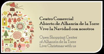 Centro Comercial Abierto de Alhaurín de la Torre Vive la Navidad 2017 con nosotros