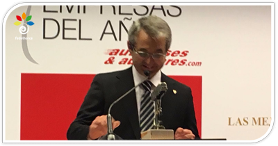 Autocares Vázquez Olmedo elegida empresa del año en el transporte discrecional