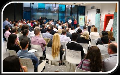 160 empresarios liberados del juego de El Secuestro en el Juernes Innovador
