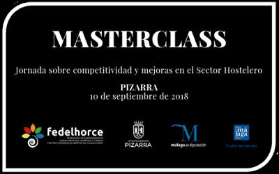Jornada de competitividad y mejoras en el sector hostelero de Pizarra. Masterclass-2018