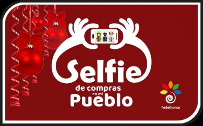 Ganadores de la promoción Selfie de compras en mi pueblo