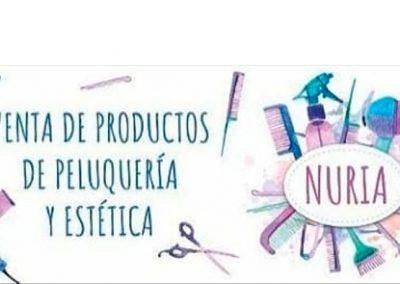 Productos Peluquería y Estética Nuria