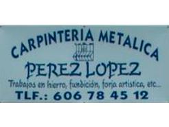 Carpintería Metálica Pérez López