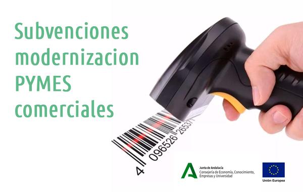 Subvenciones para la modernización de las PYMES comerciales 2020