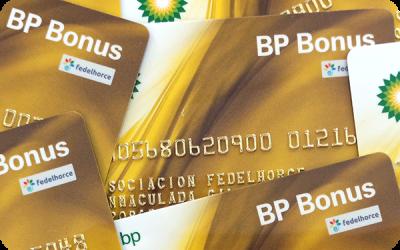 Ahorra con la tarjeta BP de Fedelhorce