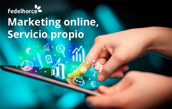 Servicio propio de Marketing Online y Diseño Gráfico de Fedelhorce